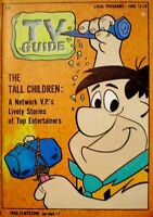 TV Guide 1964 The Flintstones Fred Flintstone Hanna Barbera Donna Reed VG COA