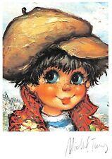 Carte Postale Poulbot,Gamin de Paris (Portrait de gamins N°119) - Michel Thomas