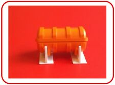 MODEL BOAT LIFERAFT CANISTER ON STAND 1:48 Scale  High Quality Injection Moulded