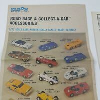 Vintage Eldon Road Race Collect A Car Accessories Order Pamphlet 1960s