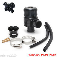 Universal Aluminum Dual Port Blow Off Turbo Bov Diverter Dump Valve 25mm Black