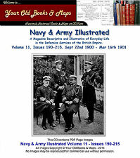 Navy and Army Illustrated XI 1900 - 1901 Boer War Volume 11 CDROM