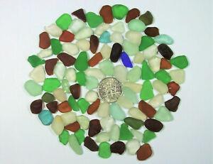 100 Tiny GENUINE Beach Sea Glass Mix Surf Tumbled ~ Mosaics & Art ~ Hawaii