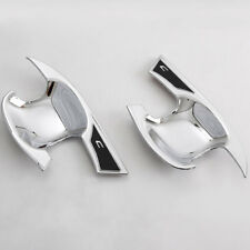 For TOYOTA CHR C-HR 16-18 Car Side Door Handle Bowl Cover Trim Set Chrome ABS x2