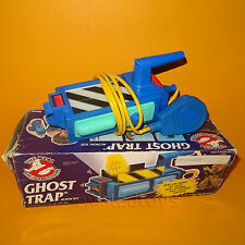 VINTAGE 1989 80s KENNER THE REAL GHOSTBUSTERS ghost trap giocattolo in scatola FUNZIONANTE RARO