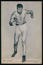 Bombardier Billy Wells UK England Boxing Sports original 1910s postcard