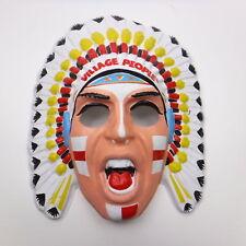 The Village People Felipe the Indian Mask Plastic 1979 YMCA
