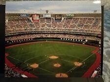 John Vukovich AUTOGRAPHED ORIGINAL 8x10 photo - Phillies last game at The Vet