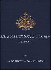 Partitions musicales et livres de chansons contemporains classiques, pour saxophone