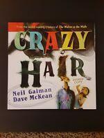Neil Gaiman Dave McKean SIGNED AUTOGRAPHED Crazy Hair HC 1st Edition 1st Print