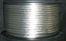 20FT SILVER 8 Gauge Primary Speaker Wire or Amp Power Ground Car Audio FLEXIBLE