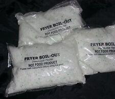 Fryer Boil Out - low-foam & pre-portioned