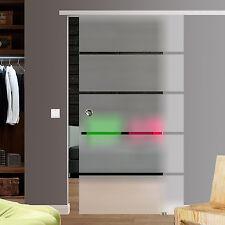 Slimline Softstop Glasschiebetür Glas schiebe Tür 900x2050 Bp1-900