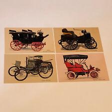 Postcard Mixed Lot Cars Post Card ephemera cadillac road coach benz levassor pan