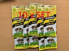 Amitras Plus Strips (100 Strips ) Beekeeping Prevention of Varroatosis Varroa