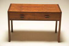 Vintage Danish Rosewood 2 Drawer Side Table Media Unit