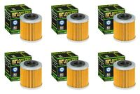 Husqvarna TE 250 2008 - 2009 Oil Filter Set HiFlofiltro HF563 Pack of 6