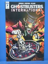 Ghostbusters International #7 Variant Idw Comics Cb10498