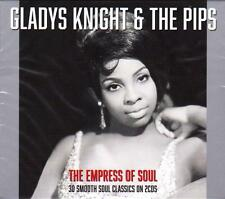 GLADYS KNIGHT & THE PIPS -  THE EMPRESS OF SOUL - 30 SOUL CLASSICS (NEW 2CD)