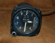 Kollsman Altimeter Type C-12 Part # 671BK-010 Contr. # AF-33186 Excellent
