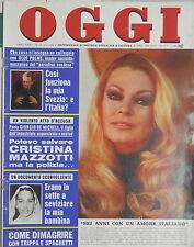 OGGI 8 marzo 1976 Anita Ekberg Crociani Manfredi Sequestro De Micheli Dotti di e