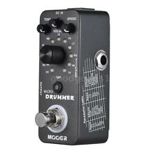 MOOER MICRO DRUMMER Digital Drum Machine Guitar Effect Pedal With Tap Tempo Q9K8