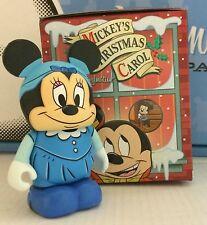 "Disney Vinylmation 3"" Christmas Carol Series 1 Minnie Mouse As Emily Cratchit"