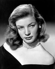 Lauren Bacall Film Star Glossy Photo Print A4 reproduction picture