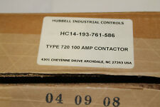 SIEMENS (HUBBELL) DC CONTACTOR 14-193-761-586 600VDC TYPE 720 200A