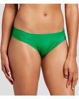 Mossimo Tabside Hipster Swim Bikini Bottom Size Medium Leaf Green New A1P