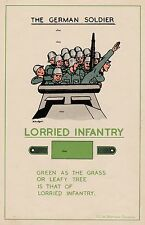 NEW A4 PRINT WW2 THE GERMAN SOLDIER BRITISH ARMY RECCE POSTER LORRIED INFANTRY
