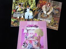 Craft Booklets Lot of 3 Crows Doll & Bitti-Bunnies Outfits 1 Used 2 New