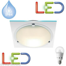 SEARCHLIGHT 2381CC IP44 LED BATHROOM LIGHT FLUSH FITTING 8.1 WATT ENSUITE BNIB