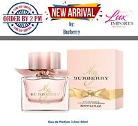 My Burberry Blush by Burberry Eau de Parfum 3.0oz Spray for Women New Sealed Box