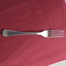 Christofle :  fourchette de table en métal argenté modèle america