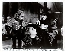 WIZARD OF OZ! DORTHY! WICKED WITCH OF THE WEST AND FLYING MONKEY! VERY NICE! A1