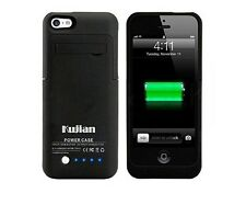 Battery Charger Case With 4 LED Lights, Pop Out Kickstand Hold For Iphone 5, 5s
