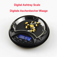 Ashtray Pocket Scale 0.01-500g Mini Compact Digital LCD Weigh Electronic Measure