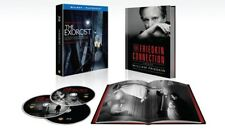 The Exorcist: 40th Anniversary 3 Disc Deluxe Edition (Blu-ray + BOOK) NEW SEALED