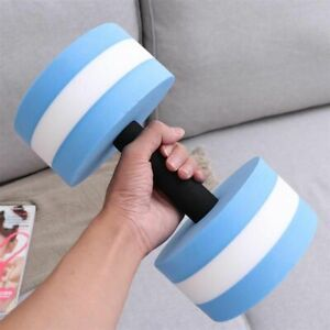 Aquatic Exercise Dumbbell Water Barbells Hand Bar Gym Fitness Lifting Accessory