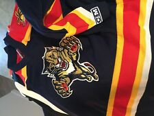 Florida Panthers NHL CCM  jersey embroidered youth small Medium