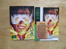 1995 FLEER MARVEL MASTERPIECES X-MEN JUBILEE CARD SIGNED DAVE DEVRIES ARTWORK