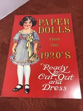 Paper Dolls from the 1920's Ready to Cut Out & Dress 1983 Shackman & Co.