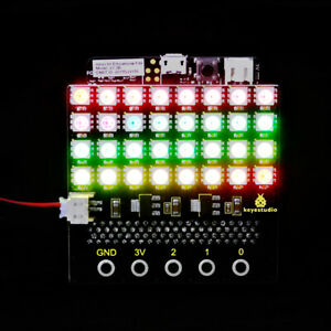 KEYESTUDIO SK6812 RGB LED Dot Matrix Display Board for BBC Micro:bit Microbit