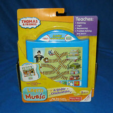 FISHER PRICE LEARN THROUGH MUSIC TOUCH PAD THOMAS & FRIENDS NEW V5868
