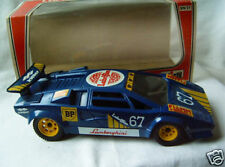 toy car model blue Lamborghini Countach LP 400 Polistil 1:23 1/23 Italy Italia