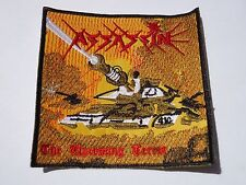 ASSASSIN THE UPCOMING TERROR EMBROIDERED PATCH