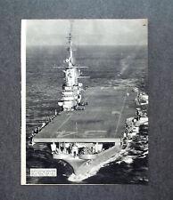 AG12 - Clipping-Ritaglio -1953- PORTAEREI LA REGINA DEI MARI , SERVIZIO