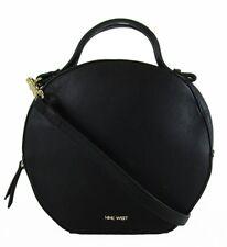 ** NINE WEST DEVONNA Black Faux  Leather Crossbody Bag Msrp $59.00