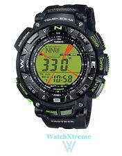 POPULAR! CASIO Protrek PRG-240-1B Men's Triple Sensor Tough Solar Sports Watch